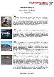Galapagos Verlängerung Vulkane - Weltweitwandern