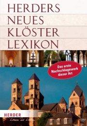 Herders neues Klösterlexikon - Verlag Herder