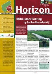 Milieudoorlichting - Provincie West-Vlaanderen