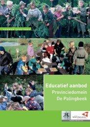 Educatief aanbod - Provincie West-Vlaanderen