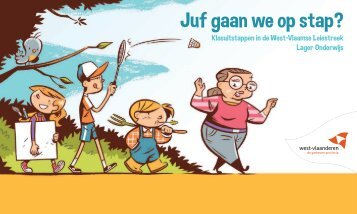 Juf gaan we op stap? - Provincie West-Vlaanderen