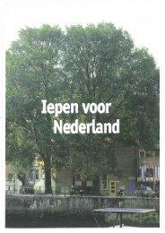 Iepen voor Nederland.pdf - Provincie West-Vlaanderen