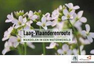 Laag-Vlaanderenroute - Provincie West-Vlaanderen