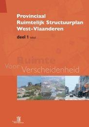 Provinciaal Ruimtelijk Structuurplan West-Vlaanderen - deel 1 - tekst