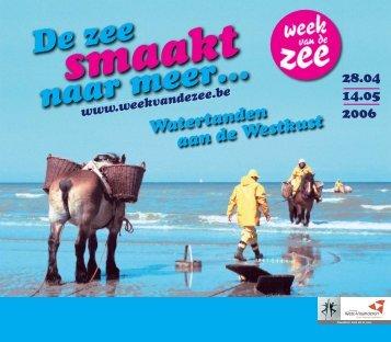 Watertanden aan de Westkust - Provincie West-Vlaanderen