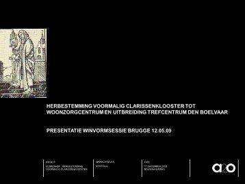 Presentatie - Provincie West-Vlaanderen
