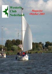 Click hier voor het magazine - Westerly Club Nederland
