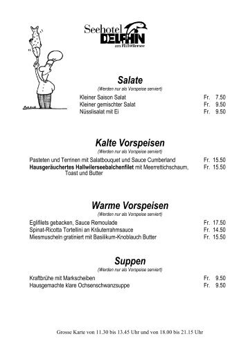 à la carte Karte - Wetter.ch