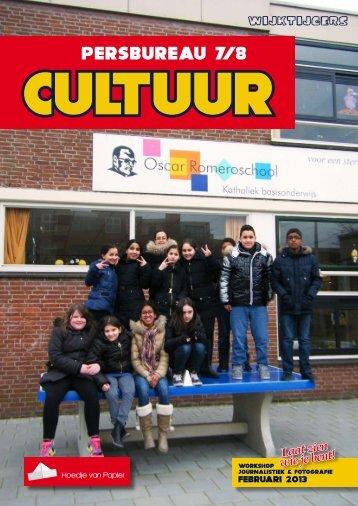 Culturen - Wijktijgers