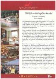Elbidyll und königliche Pracht - Schweriner Volkszeitung