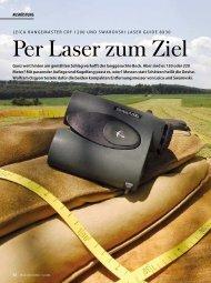 Per Laser zum Ziel - Wild und Hund