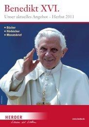 Bestseller - Verlag Herder