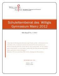 SEB-aktuell (Februar 2012) - Bischöfliches Willigis Mainz