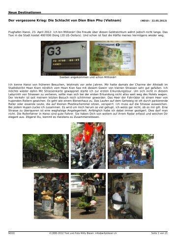 Die Schlacht von Dien Bien Phu (Vietnam)