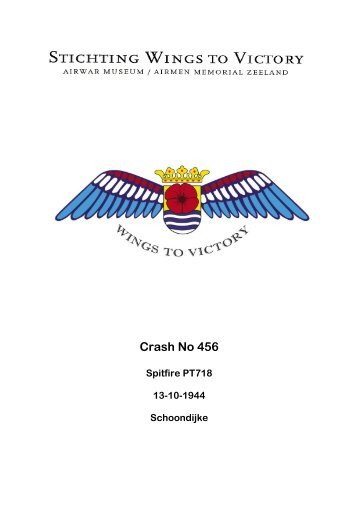 Crash No 456 - Wings to Victory