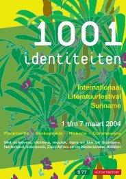 Internationaal Literatuurfestival Suriname 1 t/m 7 ... - Winternachten