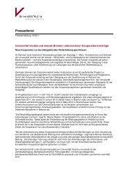 Die Pressemitteilung der Universität Vechta als PDF - Wirtschafts
