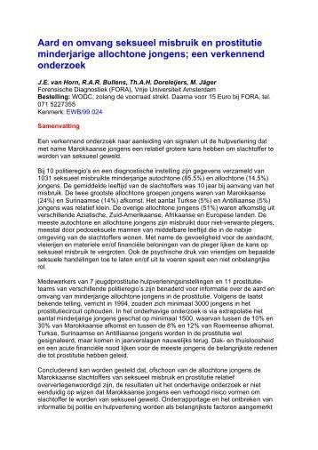 ewb01aar Samenvatting pdf-document   8 KB - WODC