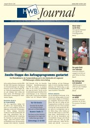 PDF HWB-Journal Oktober 2008 - h e n n i g s d o r f . d e