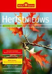 HerfstNIEUWS - WOLF-Garten NL