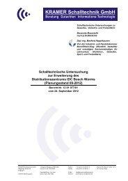 KRAMER Schalltechnik GmbH - Worms