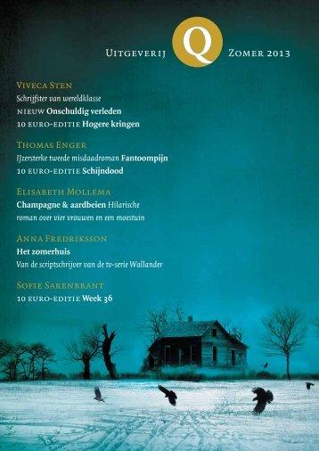Zomer 2013 Uitgeverij