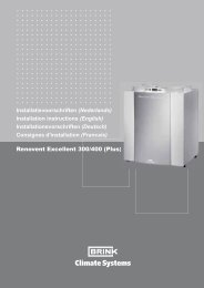 Renovent Excellent 300/400 (Plus) - WP - Energie