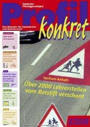 Profil konkret 2-2008 - Dphv Deutscher Philologenverband