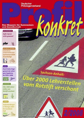 Profil konkret 2-2008 - Dphv Deutscher Philologenverband