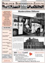Hilfe hat Vorfahrt - Berliner Behindertenzeitung