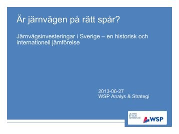 Till rapporten - WSP Group