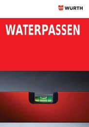 Waterpassen - Würth Belux