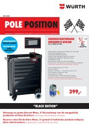 pole position - Würth Belux