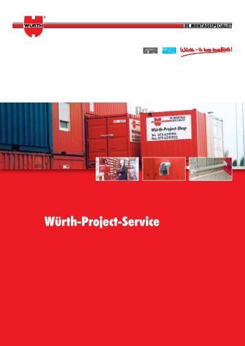 Würth Projectservice - Würth Nederland
