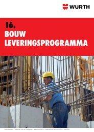16. Bouw leveringsprogramma - Würth Nederland