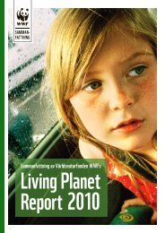 Living Planet Report 2010 - Världsnaturfonden WWF