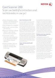 Card Scanner 200 Scan uw bedrijfscontacten snel ... - Scanners