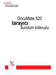 Xerox DocuMate 520 Tarayıcı Teknik Özellikleri - Scanners