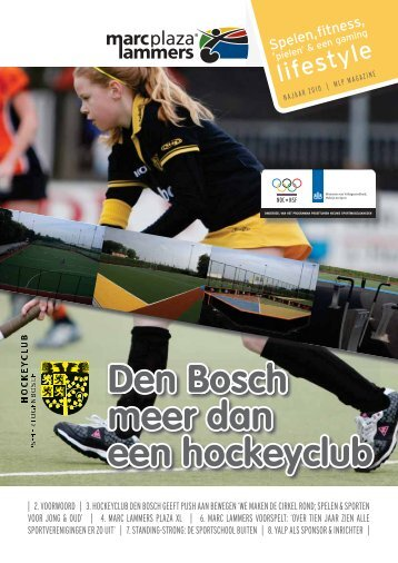 Magazine Marc Lammer Plaza XL Den Bosch - Yalp
