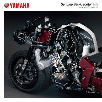 Genuina Servicedelar 2011 - Yamaha Motor Europe