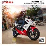 50cc en EC prijslijst 2013 - Yamaha Motor Europe