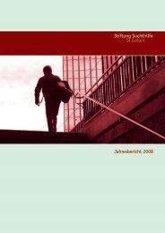 Stiftung Suchthilfe St.gallen Jahresbericht 2008