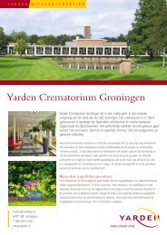 Meer informatie over Yarden Crematorium Groningen