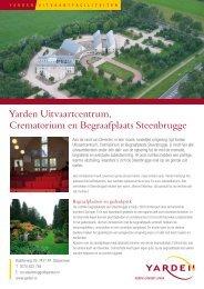 Yarden Uitvaartcentrum, Crematorium en Begraafplaats Steenbrugge