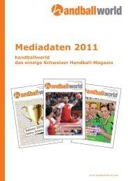 Preise Publireportage Formate - Handballworld