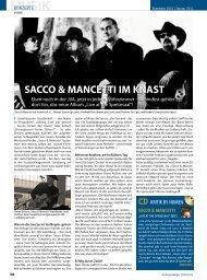 Sacco & MancettI IM KnaSt - Regensburger Stadtzeitung