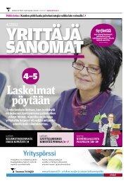 Yrittäjäsanomat 4/2012 (pdf) - Suomen Yrittäjät