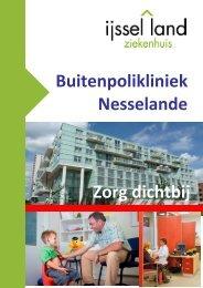 Buitenpolikliniek Nesselande Zorg dichtbij - IJsselland Ziekenhuis