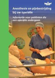 Anesthesie en pijnbestrijding bij uw operatie - IJsselland Ziekenhuis
