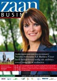 Nieuwe wethouder EZ Barbara Visser heeft ... - Zaanbusiness